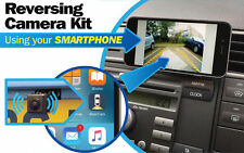 Streetwize Teléfono Inteligente Inalámbrico coche trasera vista cámara de marcha atrás de aparcamiento Cam Kit