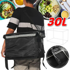 More details for food delivery insulated bags pizza takeaway thermal warm cool bag 30l