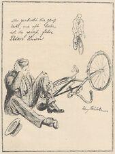 Y6914 Peters Union Fahrrad - Illustrazione -  Pubblicità d'epoca - 1925 Old ad