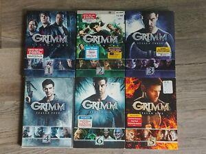 GRIMM:The Complete Series Seasons 1-6 (DVD Set)