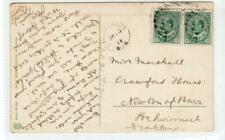 Picture postcard with WOODLANDS QUE Canada postmark (C37594)