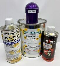 Plum Crazy Gallon Kit Single Stage ACRYLIC ENAMEL Car Auto Paint Kit