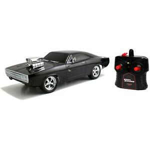 Jada Fast & Furious RC 1970 Dodge Charger 1:24 Remote Control Model Car Age 6 +