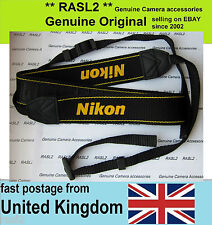 Genuine Original Nikon Neck Shoulder Strap D1X D1H D2H D2X D600 D5200 D3000 D70S