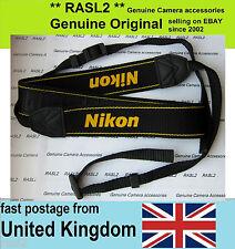 Genuine Original Nikon Neck Shoulder Strap D1X D1H D2H D2X D600 D5200 D3000 D70S