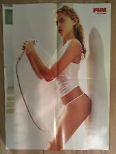 SALE: Retro 1990's FHM Estella Warren Double-Sided / Heidi Klum A2 Sized Poster