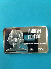 1973 Mount Everest Mint Marilyn Monroe MEM-21 Silver Art Bar P1405