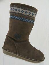 CLARKS Insulated Brown Sz 6 M (3.5 UK) Women Winter Boots