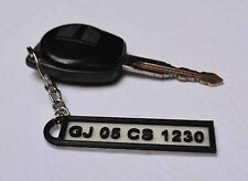 Personalized Name Number Key Chain / Keychain BUY 2 at 199