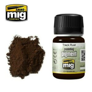 AMMO by MIG Pigments Track Rust AMIG3008