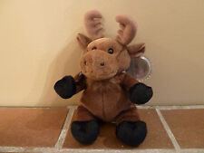Coca-Cola 1999 Beanie Plush GOURMAND THE MOOSE -CANADA Soft Toy- Rare Vintage