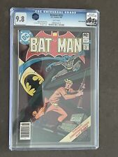 Batman #325 CGC 9.8 Rocky Mountain Pedigree/ Alfred Pennyworth Collection