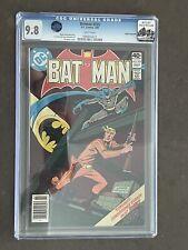 Batman #325 CGC 9.8 Rocky Mountain Pedigree/ Alfred Pennyworth Collection
