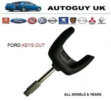 FORD TIBBE 3 BUTTON REMOTE KEY CUT TO CODE FIESTA CONNECT MONDEO KA PUMA COUGAR