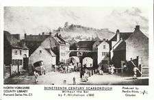 Yorkshire Postcard - Nineteenth Century Scarborough Without The Bar c1830 - 2163