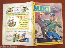 Albi di capitan MIKI n 4 EDIZIONI DARDO ORIGINALE 22 luglio 1962 AI FERRI CORTI