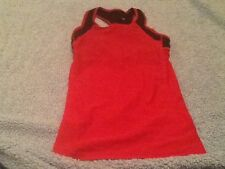 Sugoi Cycling Dark Pink Sleeveless Tank Bra Sz Small Biking Womens