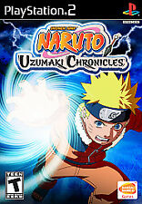 Naruto Uzumaki Chronicles PlayStation 2 Ps2 Game Complete 1 Shonen Jump