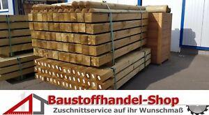 Holzpfosten Vierkantpfosten Palisade Pfosten Zaunpfosten Pfahl 7x7 9x9 KDI Zaun