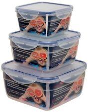 Boites hermétiques en silicone pour le rangement de la cuisine