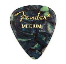 Genuine Fender® 351 Premium Picks, 12 pack, Ocean Turquoise Medium 198-0351-808