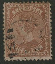 Victoria   1873-78   Scott #  128     USED
