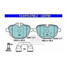 ATE 13.0470-2760.2 Bremsbelagsatz, Scheibenbremse ATE Ceramic   für BMW 5er