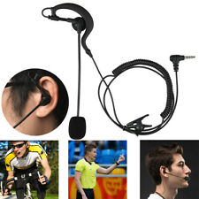 Football Referee Judge Earhook Earphone Mic Speaker For V4 V6 Bluetooth Intercom