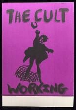 The Cult Original 1994-95 Tour Backstage Working Pass Unused Rock Concert