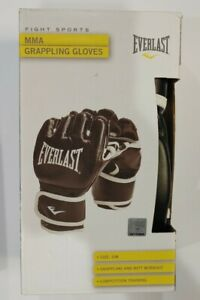Everlast MMA Grappling Gloves Competition Training Fight Sports Size: S/M NEW