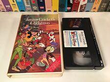 * Jiminy Cricket's Christmas Family Animation VHS Classic Walt Disney Clamshell