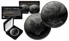 2018 BLACK RUTHENIUM 1 Troy Oz 999 Silver American Eagle Coin with Deluxe Box