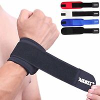 AOLIKES Weight Lifting Training Wrist Straps Support Braces Wraps Belt Protector
