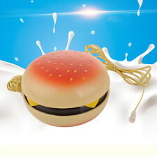 1x Novelty Hamburger Cheeseburger Burger Home Desktop Corded Phone Telephone HOT
