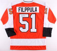 Valtteri Filppula Signed Flyers Jersey (Beckett COA) Philadelphia Center f5bd08275