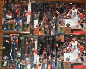 2009-10 UPPER DECK STAR ROOKIE LOT (44) DIFFERENT GOLD + SILVER DANNY GREEN RC