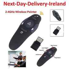 2.4GHz Wireless USB PowerPoint Presenter Remote Control Laser RF Pointer