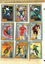 1991  DC Comics CompleteCard Base Set 180 CARDS EX.TO NEAR MINT