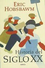 Historia del siglo XX. NUEVO. Nacional URGENTE/Internac. económico. NOVELA