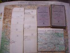 Ministero della Guerra  VENEZIA GIULIA CROAZIA SLOVENIA 1932, militaria ww2