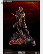Mortal Kombat Statue Scorpion Exclusive Pop Culture Shock 1:4 Deposit
