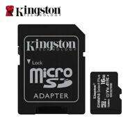Kingston 16 GB MicroSD SDHC Speicherkarte Klasse 10 UHS-I TF Card SDCS2/16GB