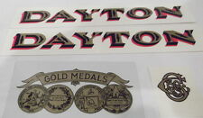 DAYTON MODEL 166 DECAL SET FOR CANDY SCALE WATER TRANSFERS