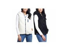 NEW!! Weatherproof Women's Comfy Faux Fur Exterior/Interior Vest Variety #269