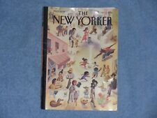 """The New Yorker Magazine - Oct. 1, 2018 Cover by Marcellus Hall """"Lower East Side"""""""