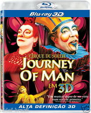 Blu-ray 3D Cirque Du Soleil - Journey Of Man [ Region ALL ]