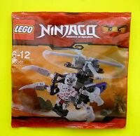 LEGO NINJAGO 30081 Skeleton Chopper FrakJaw Polybag Neu