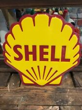 Shell Clam Repro Diecut Sign