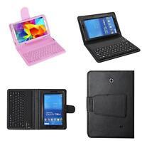 Bluetooth Wireless Keyboard For Samsung Galaxy 7'' inch Tab 4 T230 Tablet Case