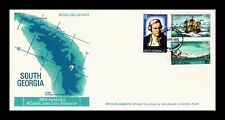 Dr Jim Stamps Captain Cool Possession Fdc South Georgia Legal Size Cover